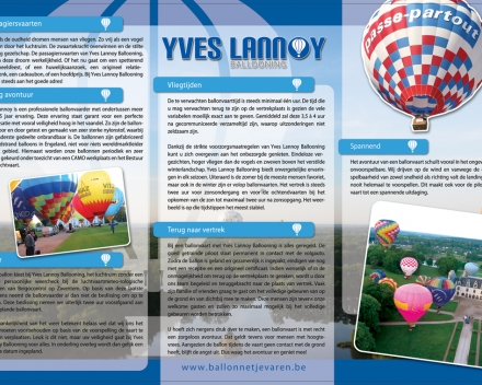 Over Yves Lannoy Ballooning