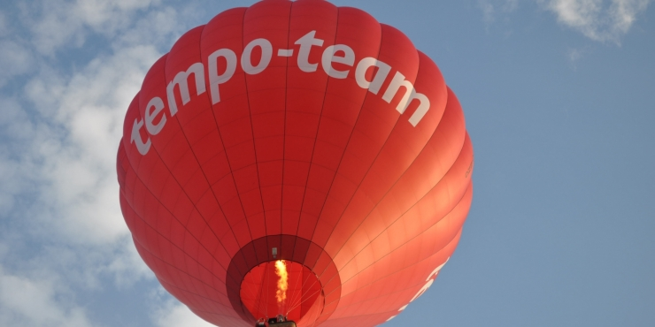 Tempo Team Luchtballon